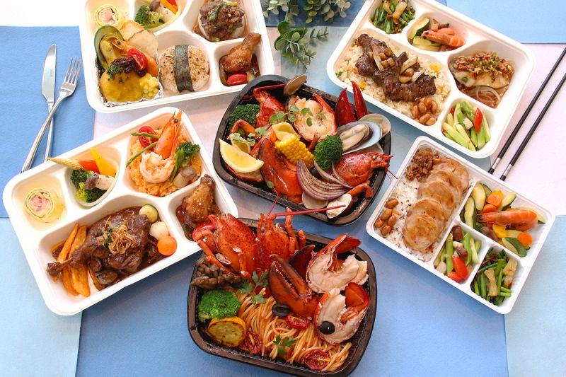 ▲台中日月千禧酒店七月更換新菜單,新推便當中西式口味都有。(圖/業者提供)