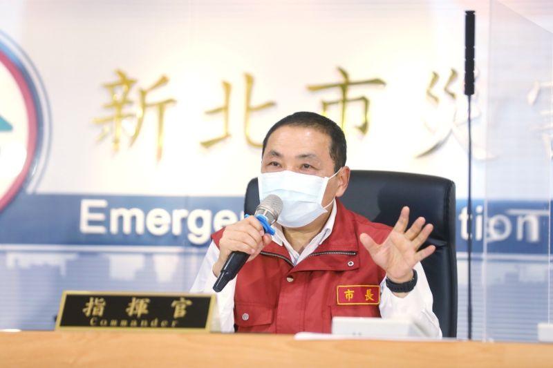 ▲新北市長侯友宜表示,謝謝中央接受入境普篩、PCR兩次的建議。(圖/新北市政府提供)