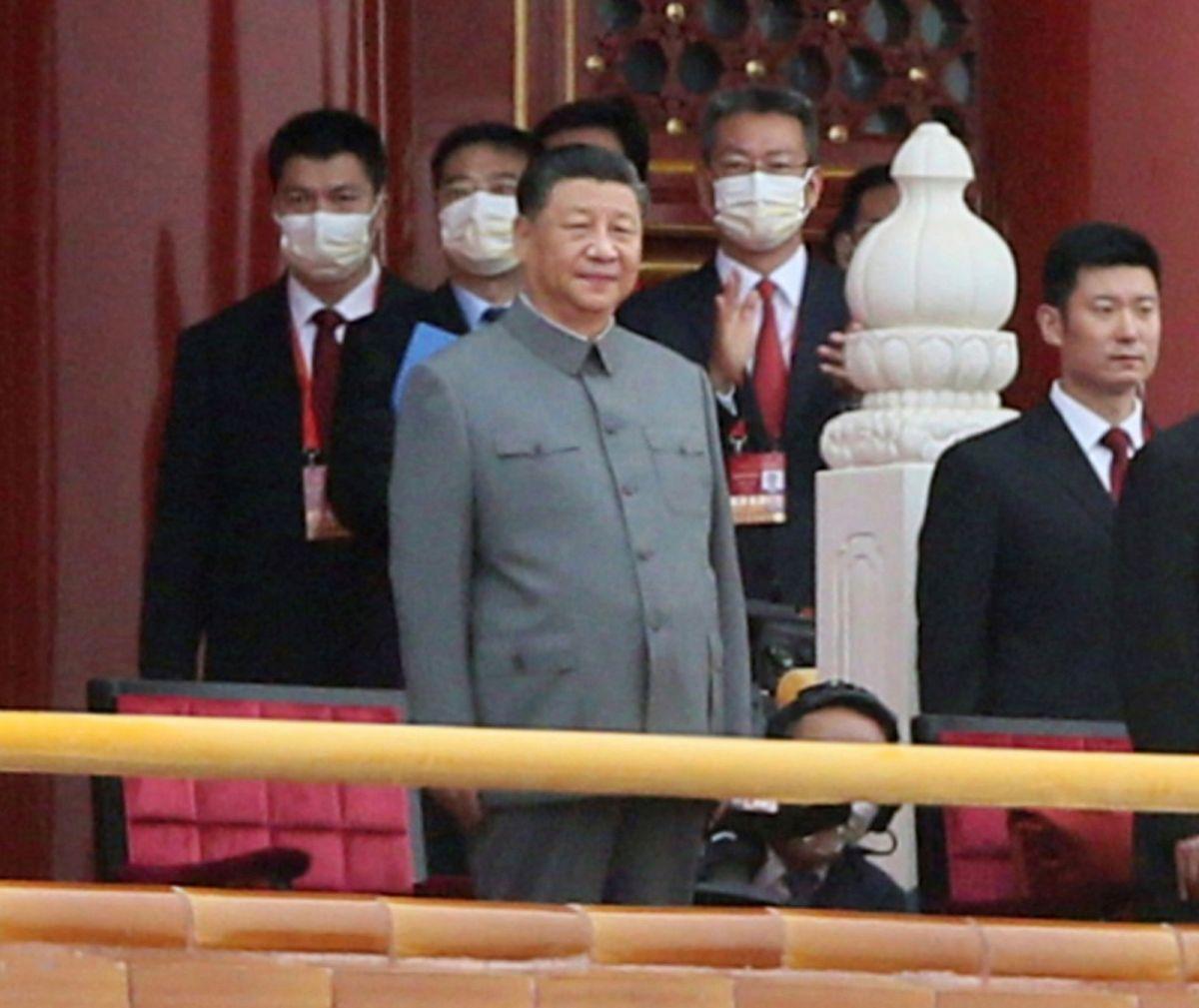 ▲北京當局宣布9日上午將在北京舉行紀念「辛亥革命110周年」大會,中共總書記習近平將發表講話。資料照。(圖/美聯社/達志影像)