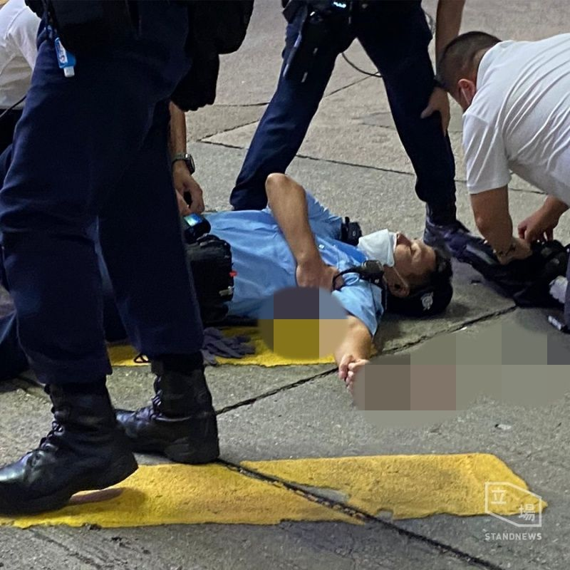 香港刺警案後續  港大學生會撤回哀悼死者議案