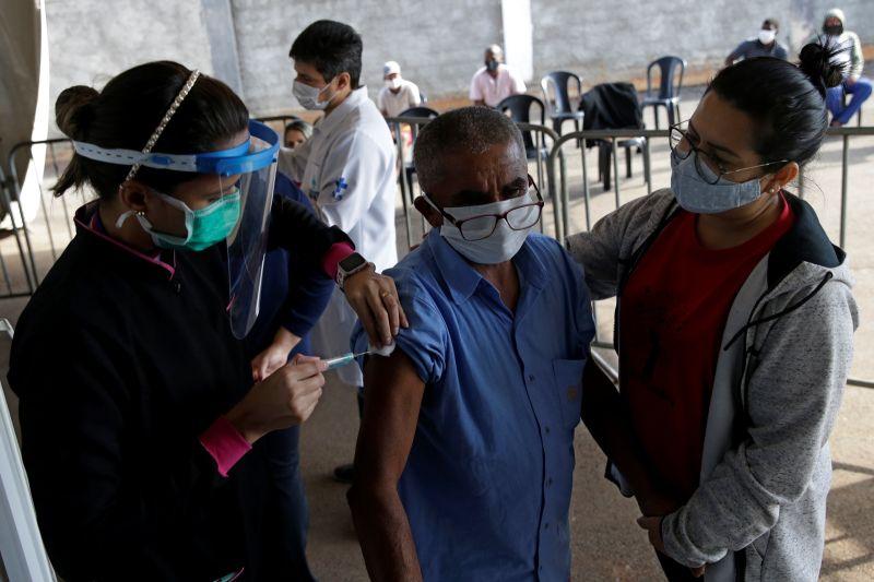 巴西施打COVID-19疫苗超過1億劑