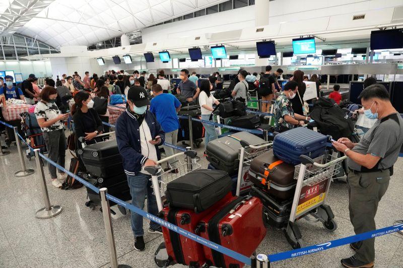 Delta病毒入侵香港 手扶梯疑成地勤感染途徑