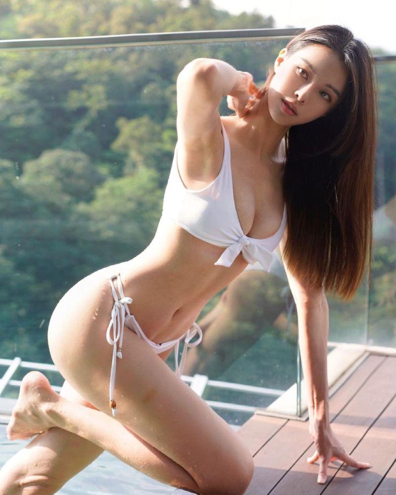 ▲李元玲擁有許多女生夢寐以求的體態。(圖/李元玲IG)
