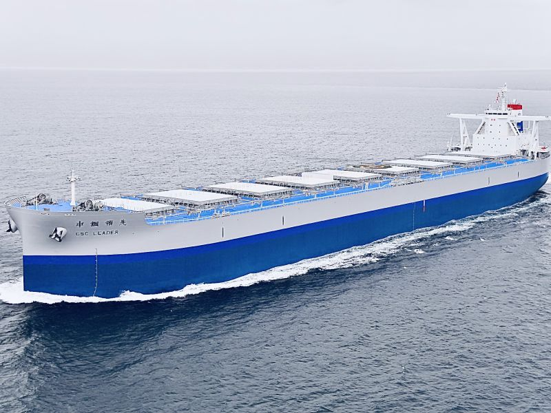 ▲中鋼公司研發高機能、高強度鋼材應用於船舶,具減碳效益。(圖/中鋼公司提供)