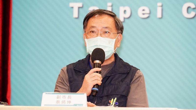 ▲針對9月學生開學一事,台北市副市長蔡炳坤16日表示,原則上還是以實體開學為主,不會分線上線下分班教學。(圖/台北市政府提供)