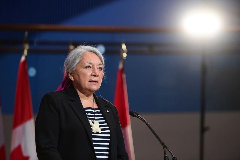 ▲加拿大伊努特(Inuit)原住民領袖西蒙今天宣誓就職,在加國追究殖民歷史之際,成為加國第30任總督,也是首任原住民出身的總督。她誓言將搭建橋梁,促進與原住民的和解。(圖/美聯社/達志影像)