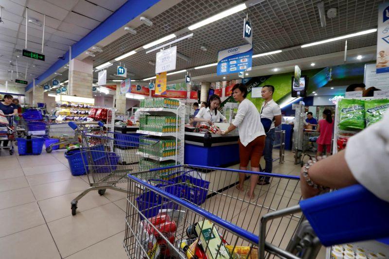 越南民眾憂心封城 胡志明市爆發搶購潮