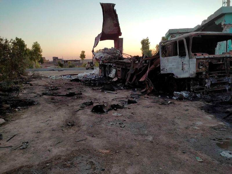 兩火箭射向巴格達美國大使館 落在附近未釀傷亡