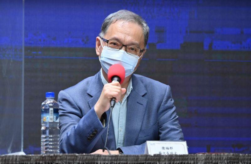 ▲衛福部次長薛瑞元認為,柯文哲的「設局說」,有損其高智商形象。(圖/行政院提供)