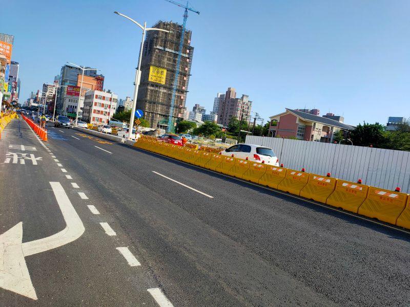 ▲高雄市中華路地下道填平開通,沿線也出現不少新建案,吸引買氣。(圖/NOWnews資料照片)