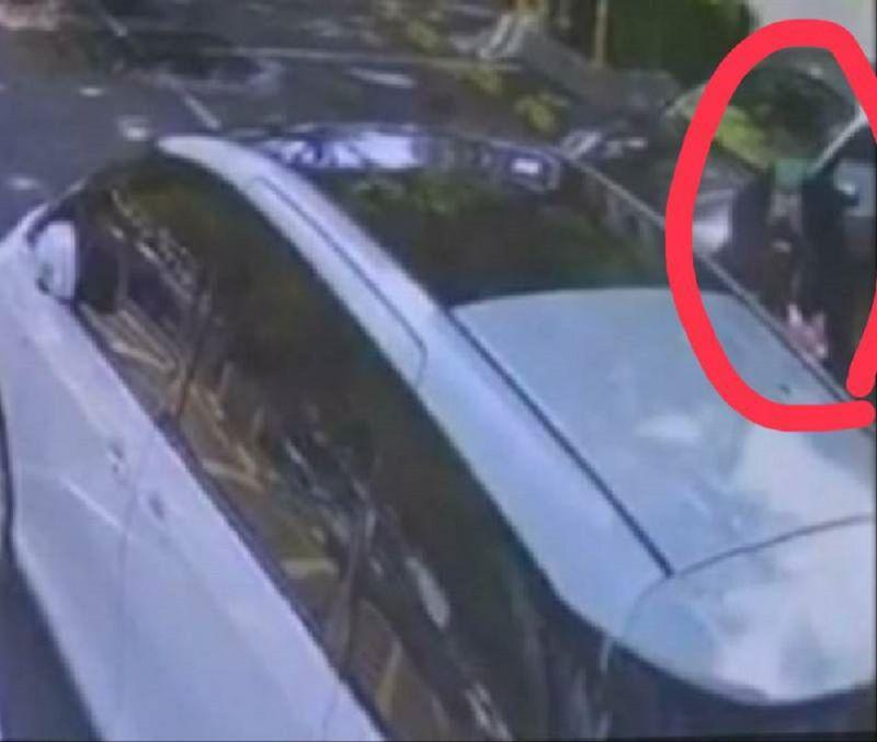 ▲王姓被害人在當天下午兩點前將新台幣68萬元在文化中心停車場交給假檢察官的車手。(圖/記者郭凱杰翻攝)