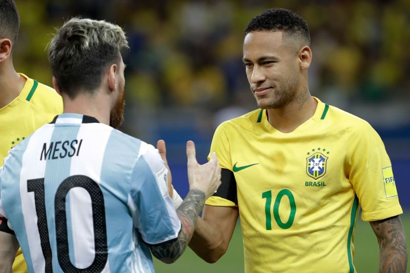 足球/美洲盃決賽強碰好友梅西 內馬爾:只有一個人能贏