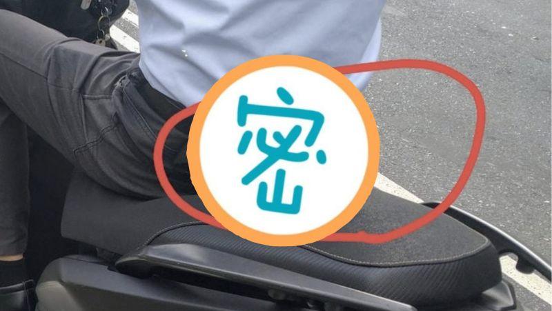 ▲網友分享自己路上看到有騎士座椅凸出一塊,結果一看用途讓他非常心動。(圖/UberEats/Foodpanda討論區)