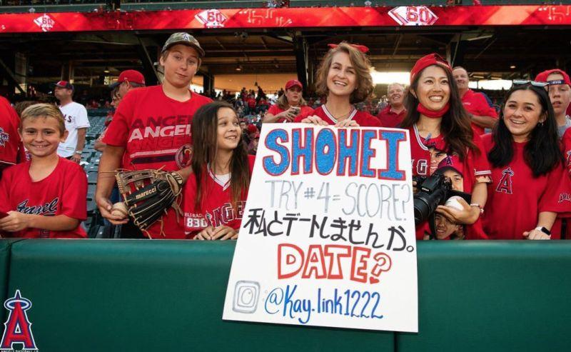 MLB/大谷開轟太帥!女球迷:跟我結婚吧