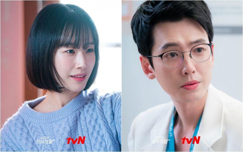 ▲劇中,鄭敬淏(右)被郭善英分手。(圖/tvN)