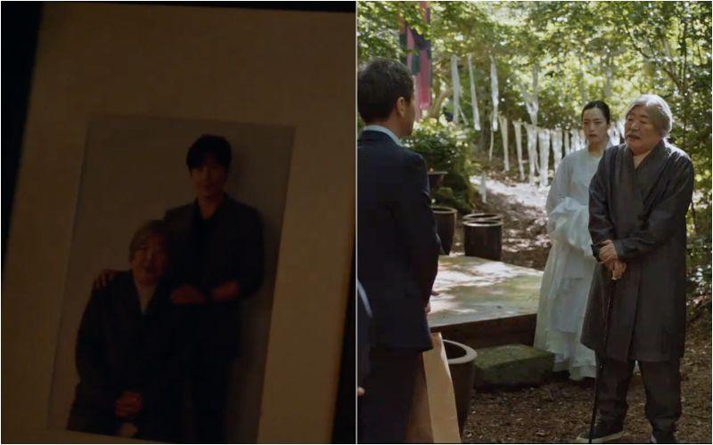 ▲▼劇中石匠長者(上圖右)與本季大魔王李奎炯認識。(圖/tvN)