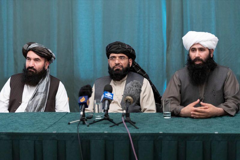 組執政委員會 塔利班: 阿富汗不會是民主國家