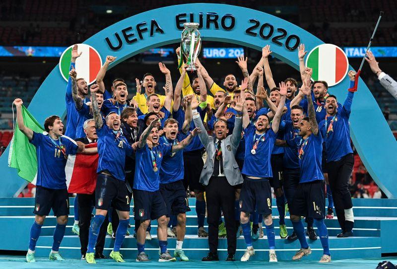 足球/逆轉!義大利PK大戰3:2擊敗英格蘭 奪歐國盃冠軍