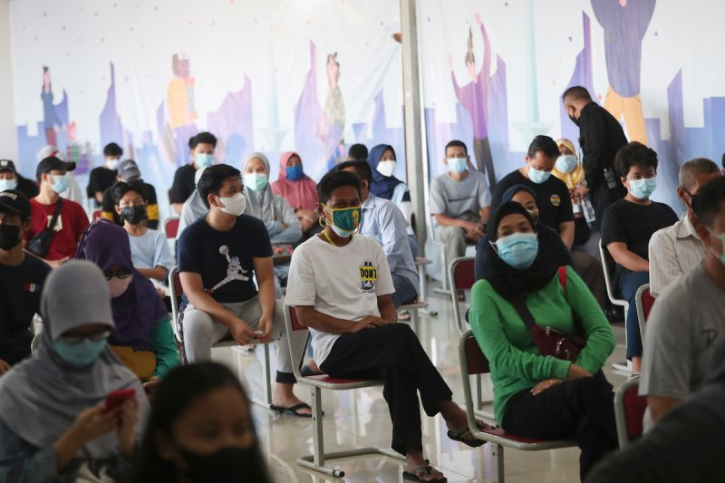 印尼加速疫苗接種 盼11月開放邊境