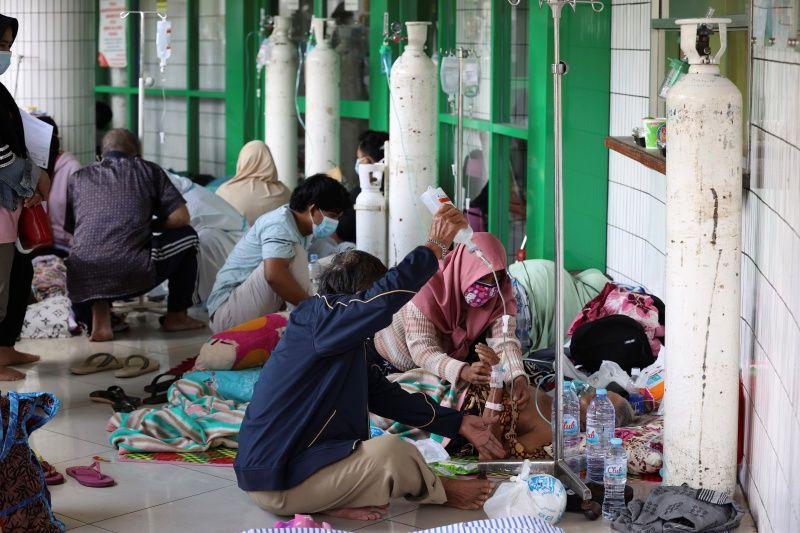 ▲由於新冠疫情大爆發,印尼醫療資源和人力吃緊。(圖/美聯社/達志影像)