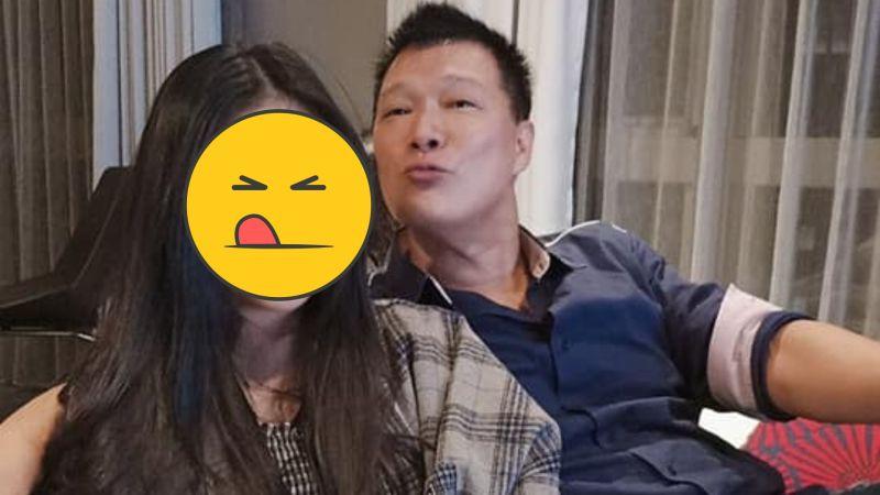 ▲蔡詩萍(後)愛女近照曝光。(圖/蔡詩萍臉書)