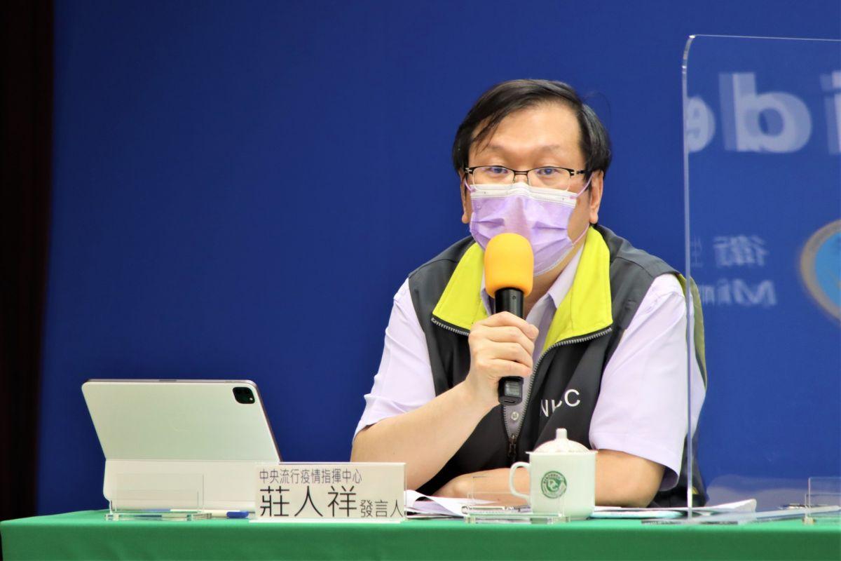 ▲中央流行疫情指揮中心發言人莊人祥表示,針對日本疫苗護照措施,將請外交部持續與日方溝通。(圖/指揮中心提供)
