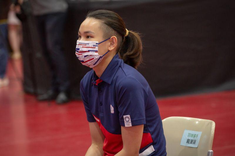 ▲東京奧運代表團將於19日搭乘包機前往日本,圖為被視為冬奧奪金熱門的羽球選手戴資穎。(圖/翻攝自蔡英文臉書)