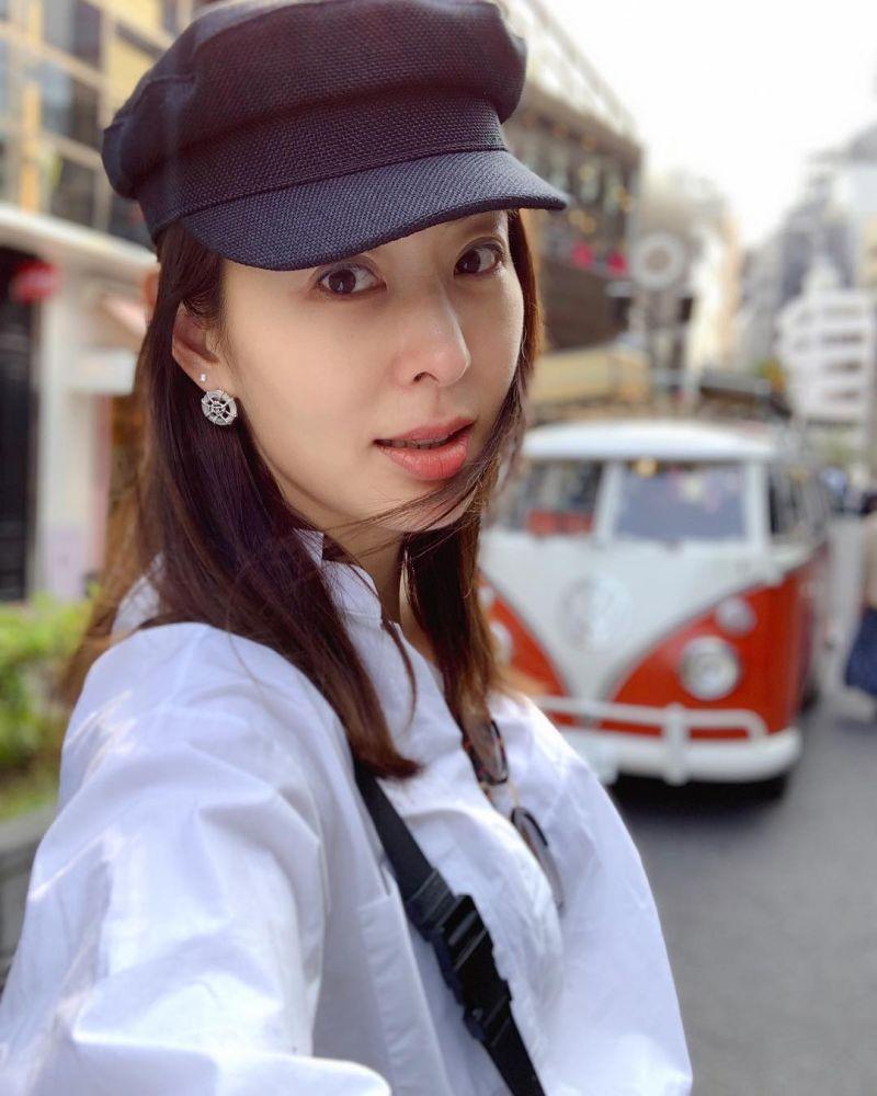 ▲賈永婕被網友封「抗疫女神」、「國民女兒」。(圖/賈永婕IG)