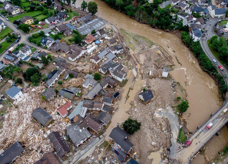百年最強洪災釀至少70死 德國一地區1300人失蹤