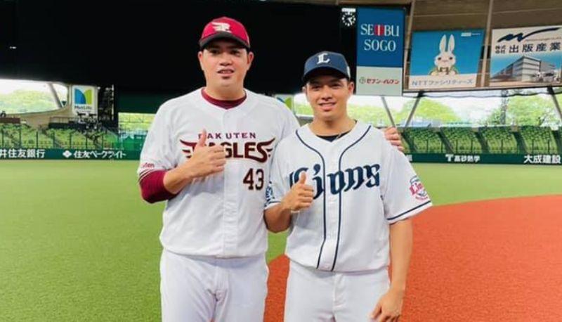 ▲宋家豪(左)與吳念庭。(圖/取自吳念庭臉書)