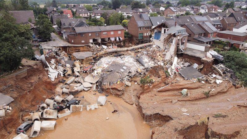 氣候暖化衝擊歐洲 一個月內洪患野火接踵而至