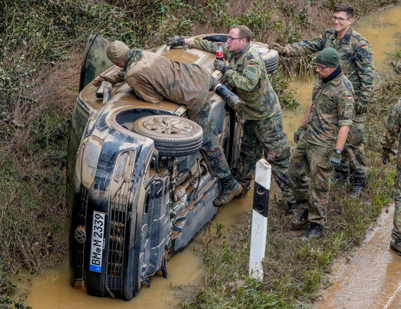 德國比利時洪患累計170人死亡 療養院12人逃難不及罹難