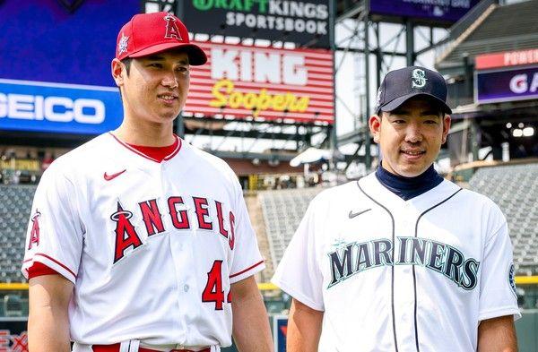 MLB/花卷東對決!菊池封鎖學弟大谷翔平