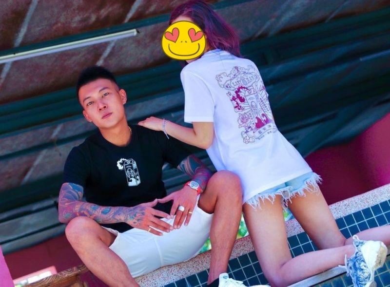 ▲鳳梨(左)與DJ女友歐菈感情穩定。(圖/翻攝歐菈IG)