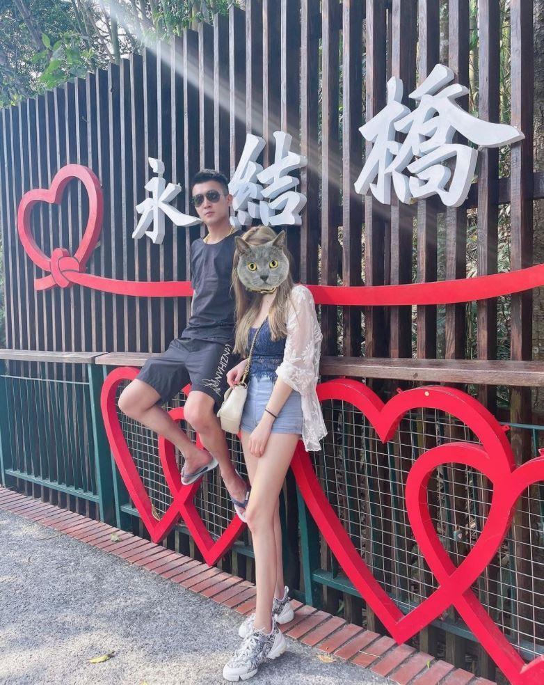 ▲▼鳳梨(上圖左)公開與DJ女友放閃的照片。(圖/翻攝鳳梨、歐菈IG)