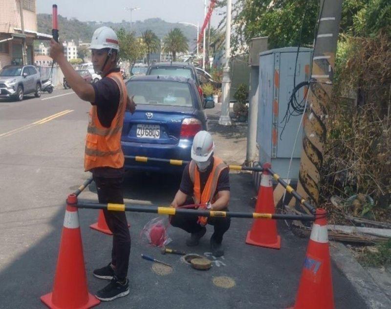 掌握管線漏水 水公司辦理旗津地區科技檢漏作業
