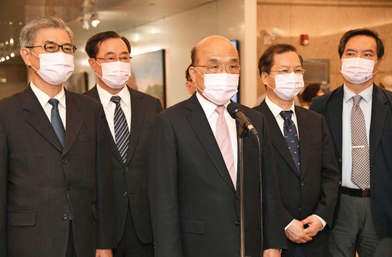 東奧台灣隊搭經濟艙 蘇貞昌出面致歉:政府很不會安排