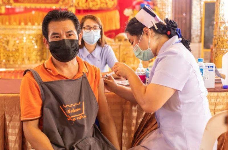 ▲泰國疫苗施打示意圖。(圖/shutterstock)