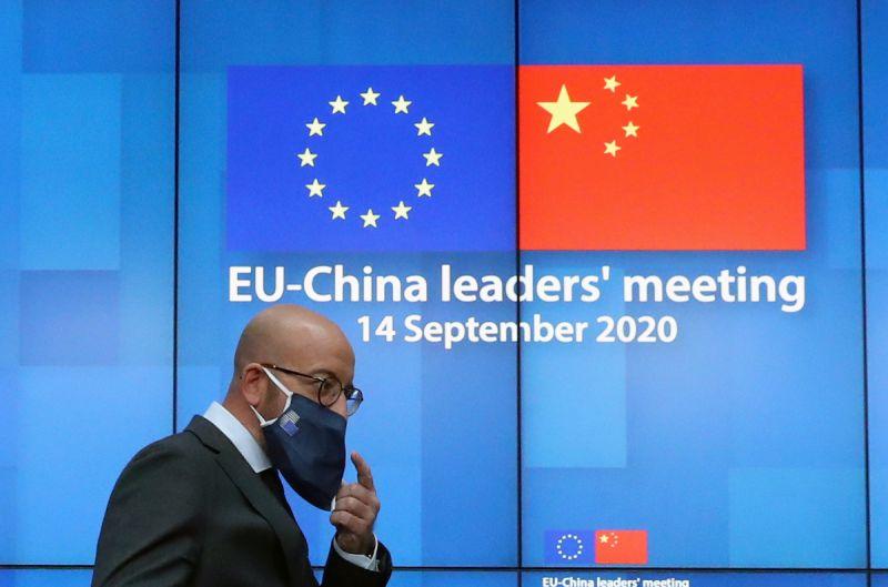 ▲英國媒體認為,在目前歐洲對待中國態度謹慎溫和的現今,立陶宛勇於反抗強權的勇氣值得讚賞與支持。(圖/美聯社/達志影像)