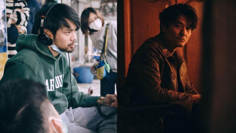 ▲導演(左)陳健朗花3個月磨合影帝林家棟(右)。(圖/CATCHPLAY提供)