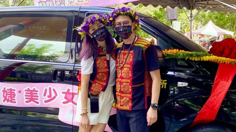賈永婕親送防疫專車 Cue徐若瑄:我也可以當原住民美女