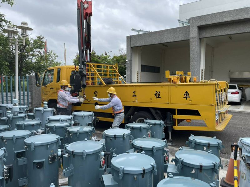 防範烟花颱風強風豪雨 台電台南區處全力戒備