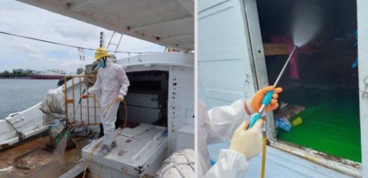 台灣漁船遭查獲載運非法移工、7人染疫 漁業署重罰