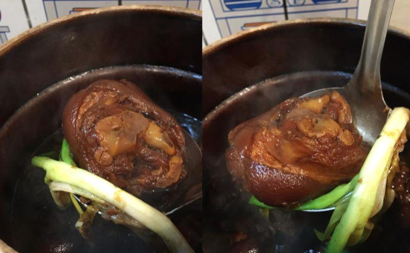 ▲滑嫩Q彈的「滷豬腳」是不少人的最愛,不過要怎麼做的更美味?就有一名女網友分享「關鍵步驟」,表示照著做出來的豬腳,軟Q又彈牙。(圖/翻攝自《廚藝公社》)
