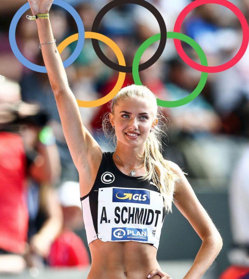 ▲德國女子田徑選手Alica