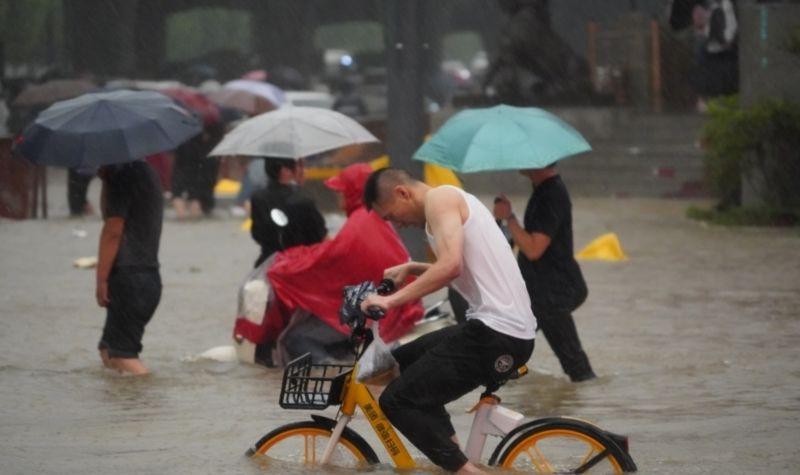 河南大暴雨已99人遇難 官方加大支持災後重建