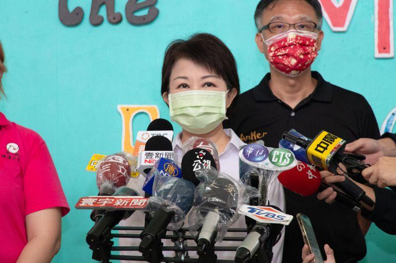 ▲市長盧秀燕受訪指出,市府核准旅館成立居家檢疫替代所,環境清潔衛生為最起碼的要求,因此絕不容許此情形發生(圖/市政府提供2021.7.23)