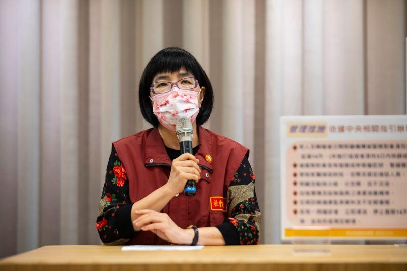 ▲社會局長張錦麗表示,為減輕許多家庭的照顧負荷,將從7月27日起恢復收托的服務。(圖/新北市政府提供)