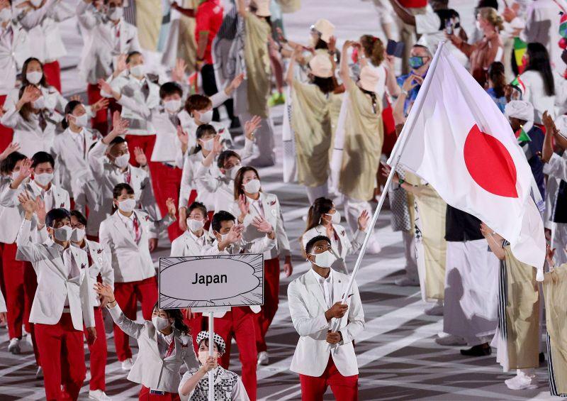 ▲東京奧運開幕式表演。(圖取自twitter.com/Tokyo2020)