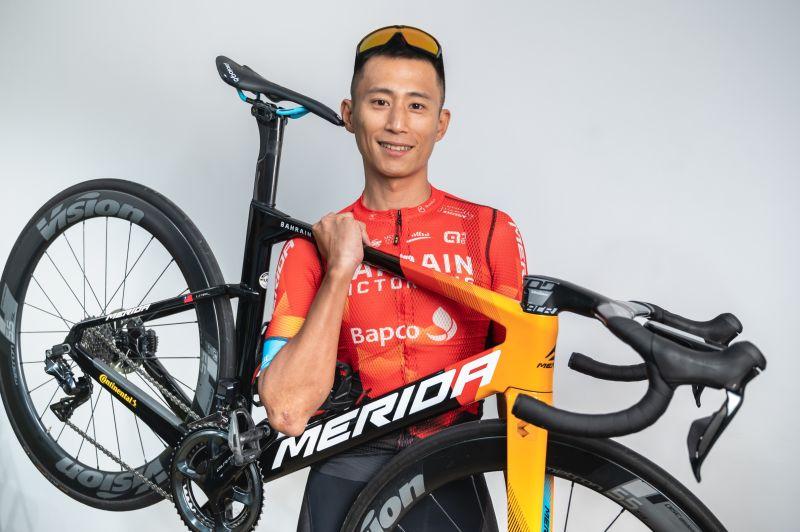 ▲自行車好手馮俊凱。(圖/美利達提供)